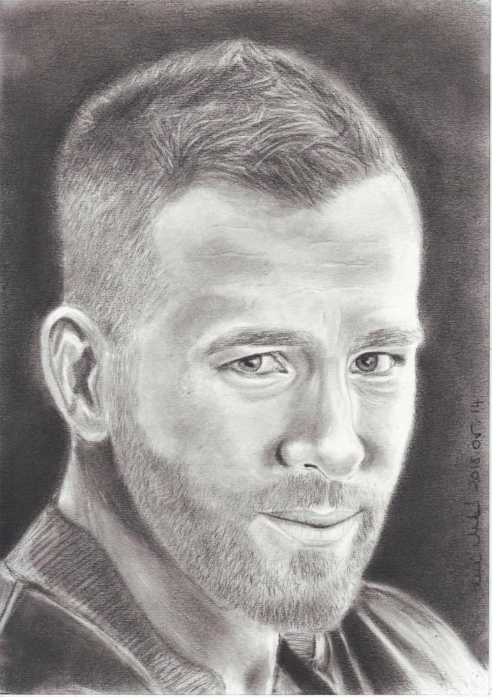 Ryan Reynolds by mklari77